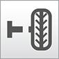 Das Bild zeigt das Symbol für Montier- und Wuchtmaschinen aus der Gruppe Werkstattausrüstung