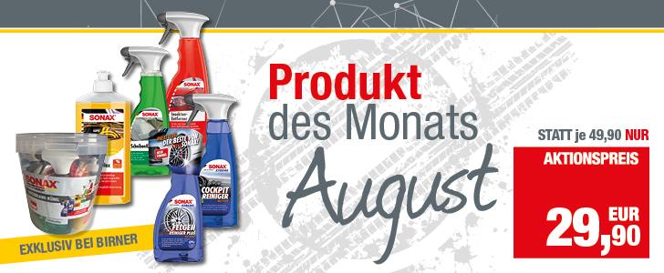 Produkt des Monats - August