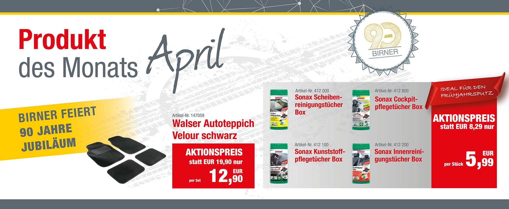 Produkt des Monats April