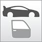 Dieses Bild zeigt das Symbol für die Baugruppen Karosserie und Glas von Autos