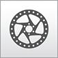 Dieses Bild zeigt das Symbol für die Baugruppen Antrieb und Bremsen von Motorrädern