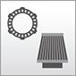 Dieses Bild zeigt das Symbol der Baugruppen Filter und Kupplungen für Motorräder
