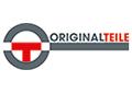 DAs bild zeigt das Logo von Originalteile